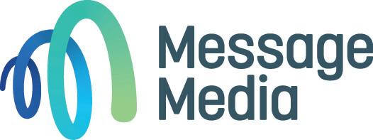 Logo of MessageMedia in colour